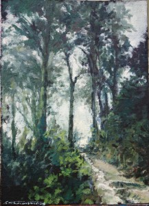Arbres Portugal 3 - huile